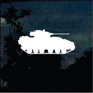 Military Decals – Tank Silhouette a4
