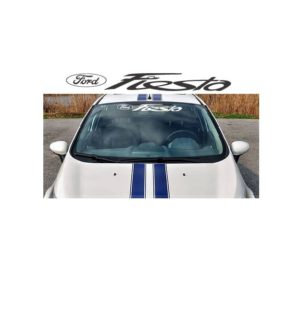 Windshield Banner - Ford Fiesta Decal Sticker