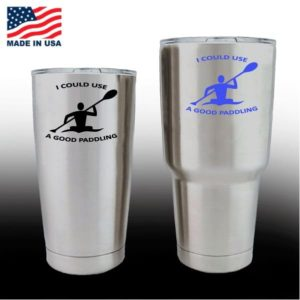 Yeti Decals - Cup Stickers - Kayak Good Paddling