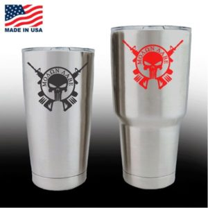 Yeti Decals - Cup Stickers - Molon Labe Come Take Them