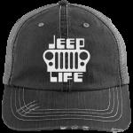 Jeep Life Distressed Cap Hat