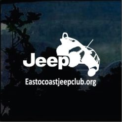 Jeep Decals - East Coast Jeep Club Decal