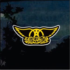 Band Stickers - Aerosmith Full Color Decal