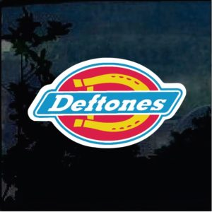 Band Stickers - Deftones Full Color Decal