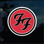 Foo Fighters Full Color Decal - Band Stickers