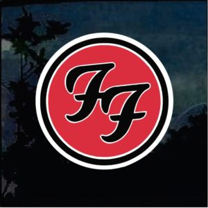 Band Stickers - Foo Fighters Full Color Decal