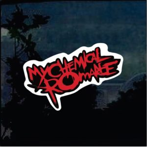 Band Stickers - My Chemical Romance Full Color Decal