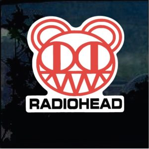 Band Stickers - Radio Head Full Color Decal