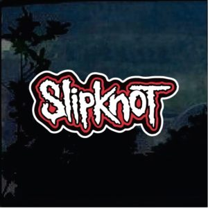 Band Stickers - Slipknot Full Color Decal