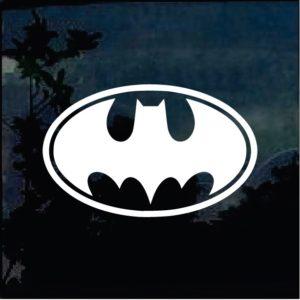 Car Decals - Batman Winged Sticker