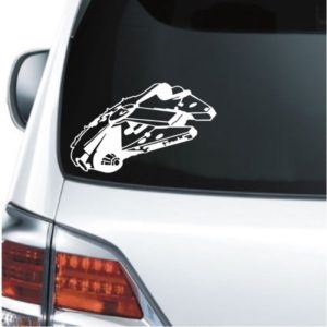 Car Decals - Millennium Falcon Sticker