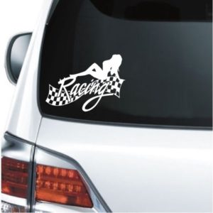 Car Decals - Sexy Racing Sticker