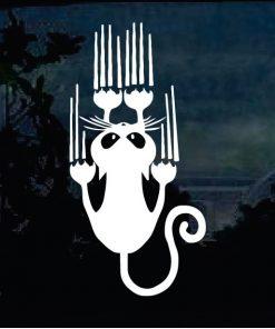 Cat Stickers - Cat Scratch Decal