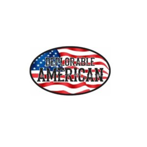 Cool Sticker - Deplorable American Decal