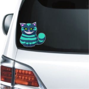 Cool Stickers - Alice in Wonderland Cheshire Cat Decal