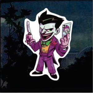 Cool Stickers - Batman Joker Decal