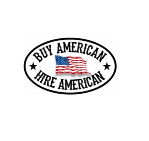 Cool Stickers - Buy American Hire American Decal