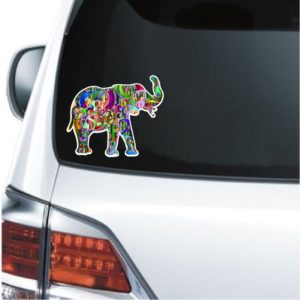 Cool Stickers - Elephant Designer Decal
