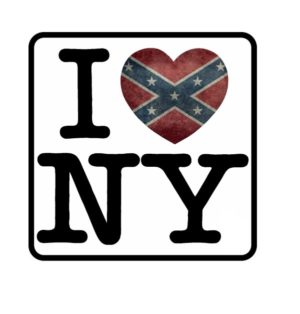 Cool Stickers - I love NY Heart