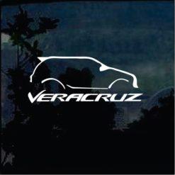 Jdm Stickers - Hyundai Veracruze Decal