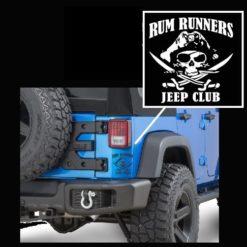 Jeep Decals - Rum Runners Skull Sticker