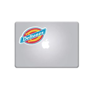 Laptop Stickers - Deftones Full Color Decal