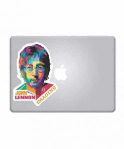 Laptop Stickers - John Lennon Full Color Decal