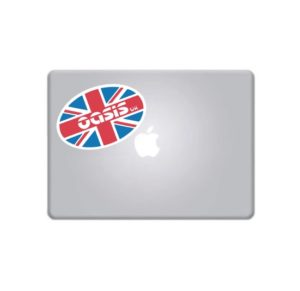 Laptop Stickers - Oasis uk Band Full Color Decal
