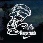 Calvin Pee on Colin Kaepernick Military Window Decal Stickers