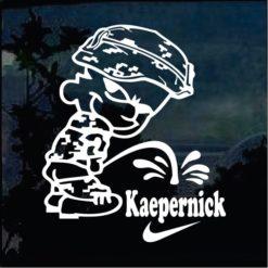 Military Decals - Calvin Pee on Colin Kaepernick