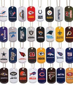NFL Football Team Dog Tags