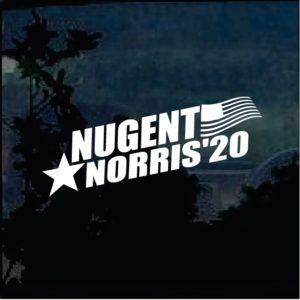 Truck Decals - Nugent Norris 2020 Sticker