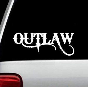 Truck Decals - Outlaw Sticker