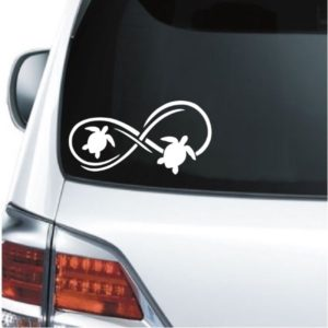 Turtle Decal - Turtle Infinity Sticker