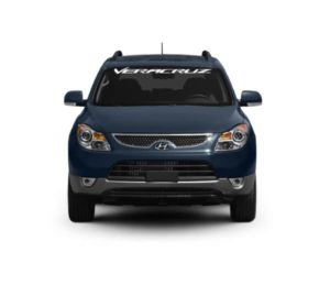 Windshield Banner - Hyundai Veracruze Decal Sticker
