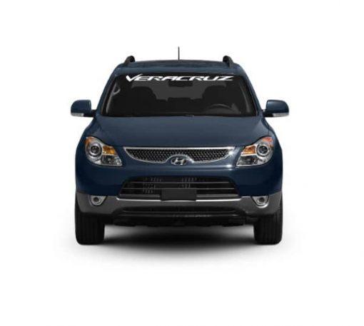 Windshield Banner - Hyundai Veracruze Decal Sticker