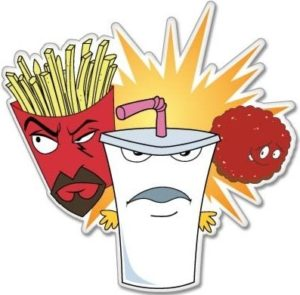 cool stickers - Aqua Teen Hunger Force