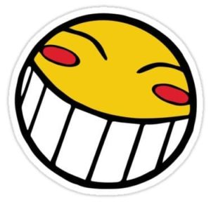 cool stickers - Cowboy Bebop Radical Ed Smiley decal