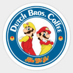 Dutch Bros Coffee Decal - Cool Stickers