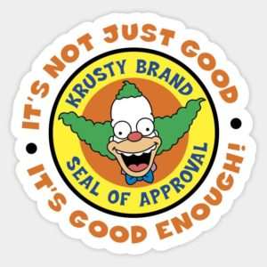 cool stickers - Krusty Seal Decal