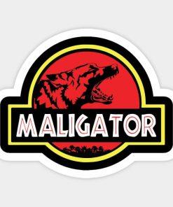 cool stickers - Maligator Decal