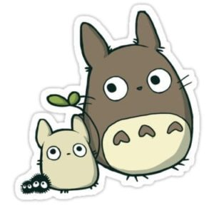 cool stickers - Totoro decal