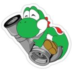 Yoshi Turbo Decal Laptop Decals Stickers