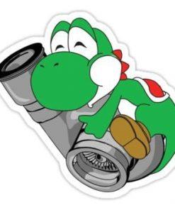 cool stickers - Yoshi Turbo Decal