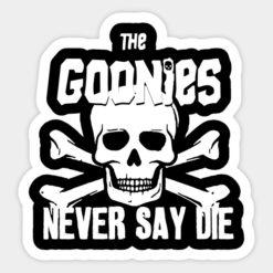 cool stickers - goonies never say die decal