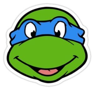 cool stickers - mutant ninja turtle leanardo decals