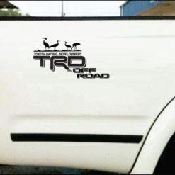 toyota off road crane 1 Trd Stickers