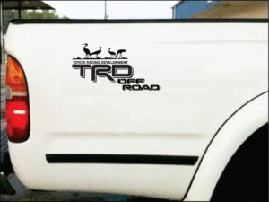 toyota off road crane 1 Trd Stickers