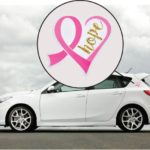 Hope Heart Breast Cancer Awareness Car Magnet