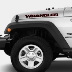 Jeep wrangler hood decal 2 color New Styling Sticker
